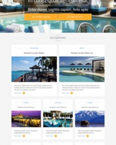 joomla travel agency template