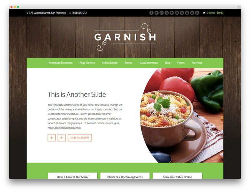 garnish-green-restaurant-theme