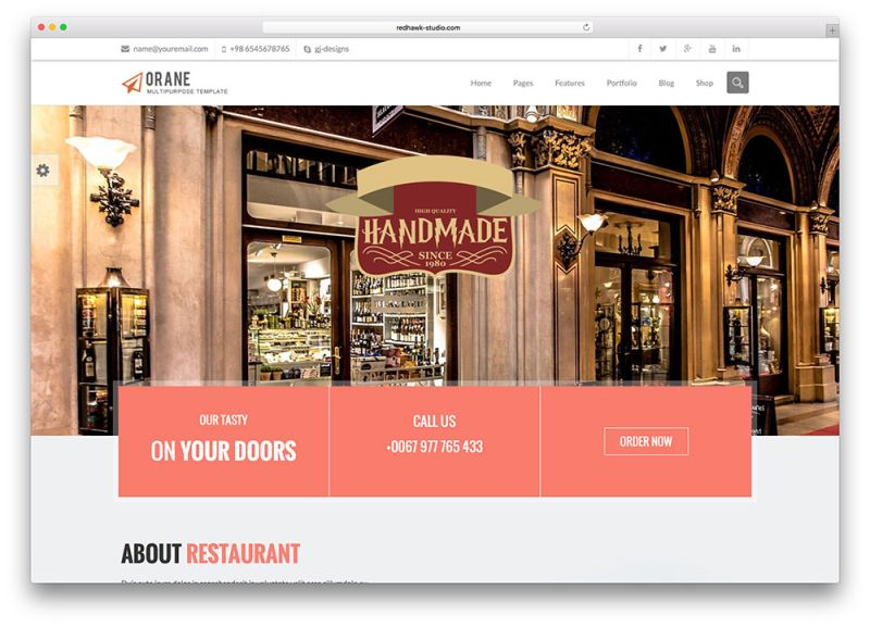 orane-restaurant-wordpress-theme