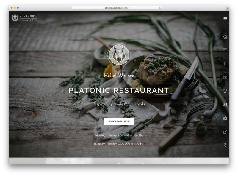 platonic-simple-restaurant-wordpress-theme