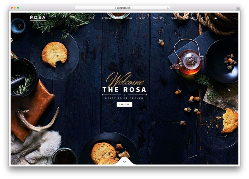 rosa-creative-fullscreen-restaurant-theme