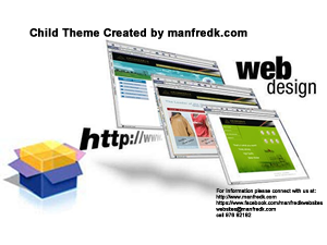 Wordpress Child Themes Created-How To