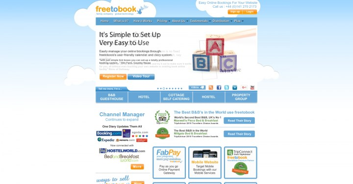 freetobook booking software