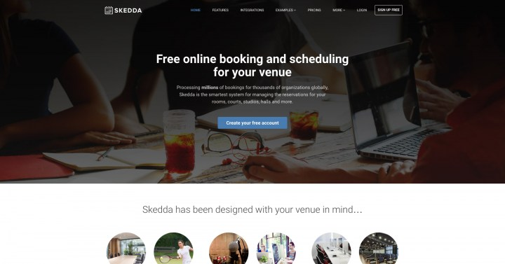 skedda booking software