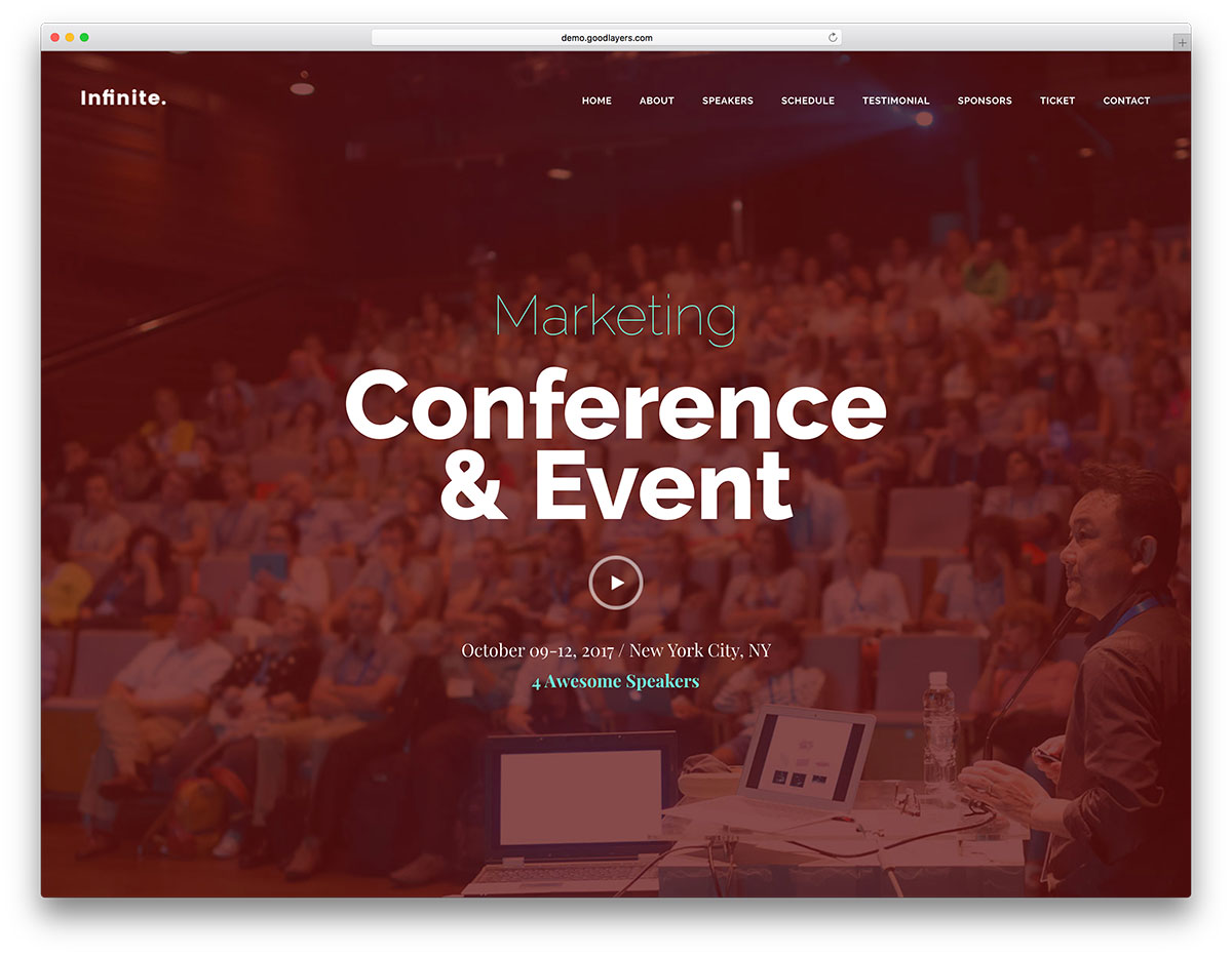 infinite-conference-wordpress-event-theme