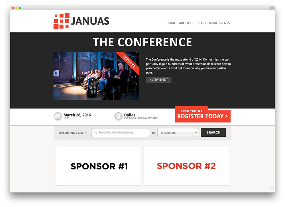 janus-conference-template