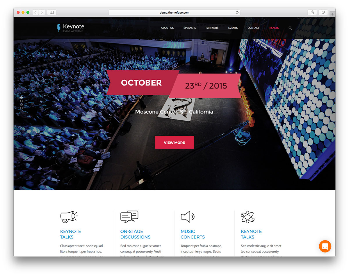 thecore-keynote-wordpress-event-theme