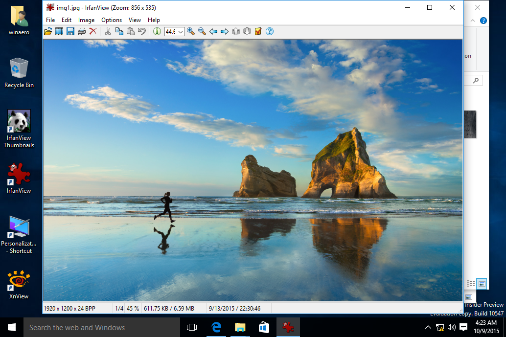 Irfanview Image Editor and Optimizer