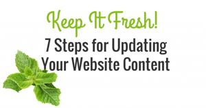updated your website content