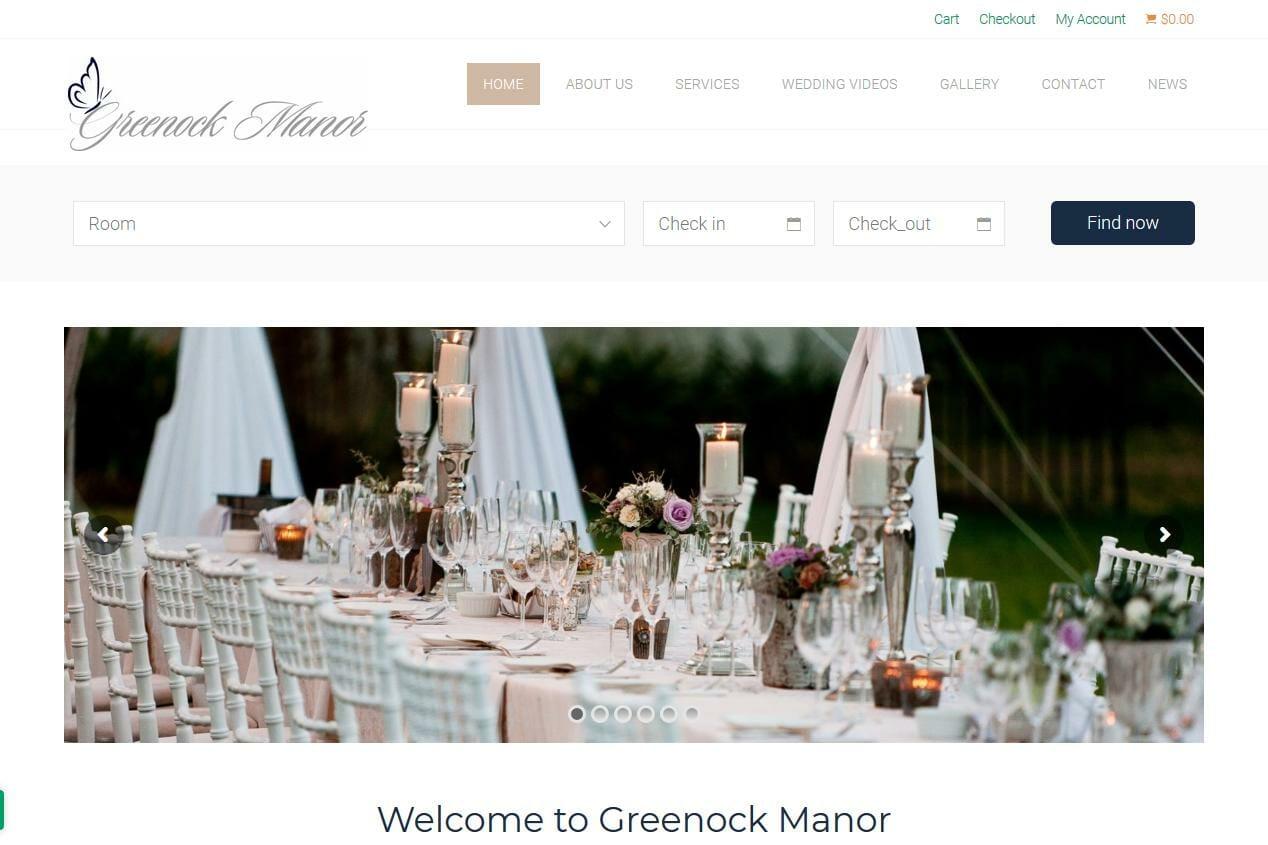 Greenock Manor Virginia Wedding Venue