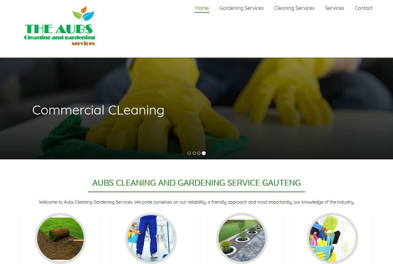aubs cleaning and gardening gauteng