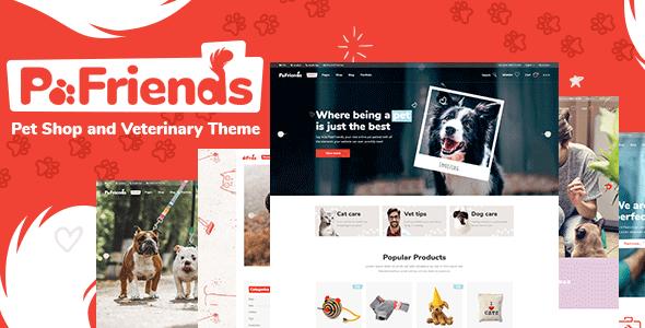 Petfriends Homepage