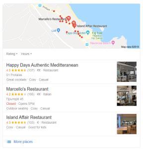 Local SEO Restaurant Protaras