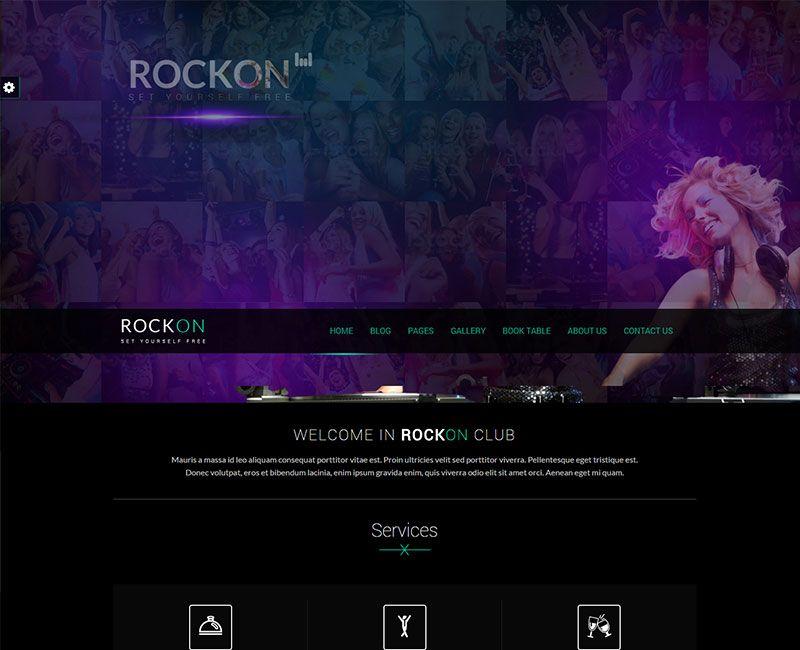 Rockon WordPress Theme