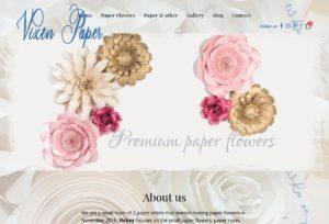 Vixen Paper Flowers
