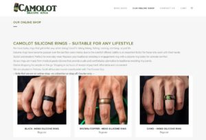 Camolot Silicone Rings