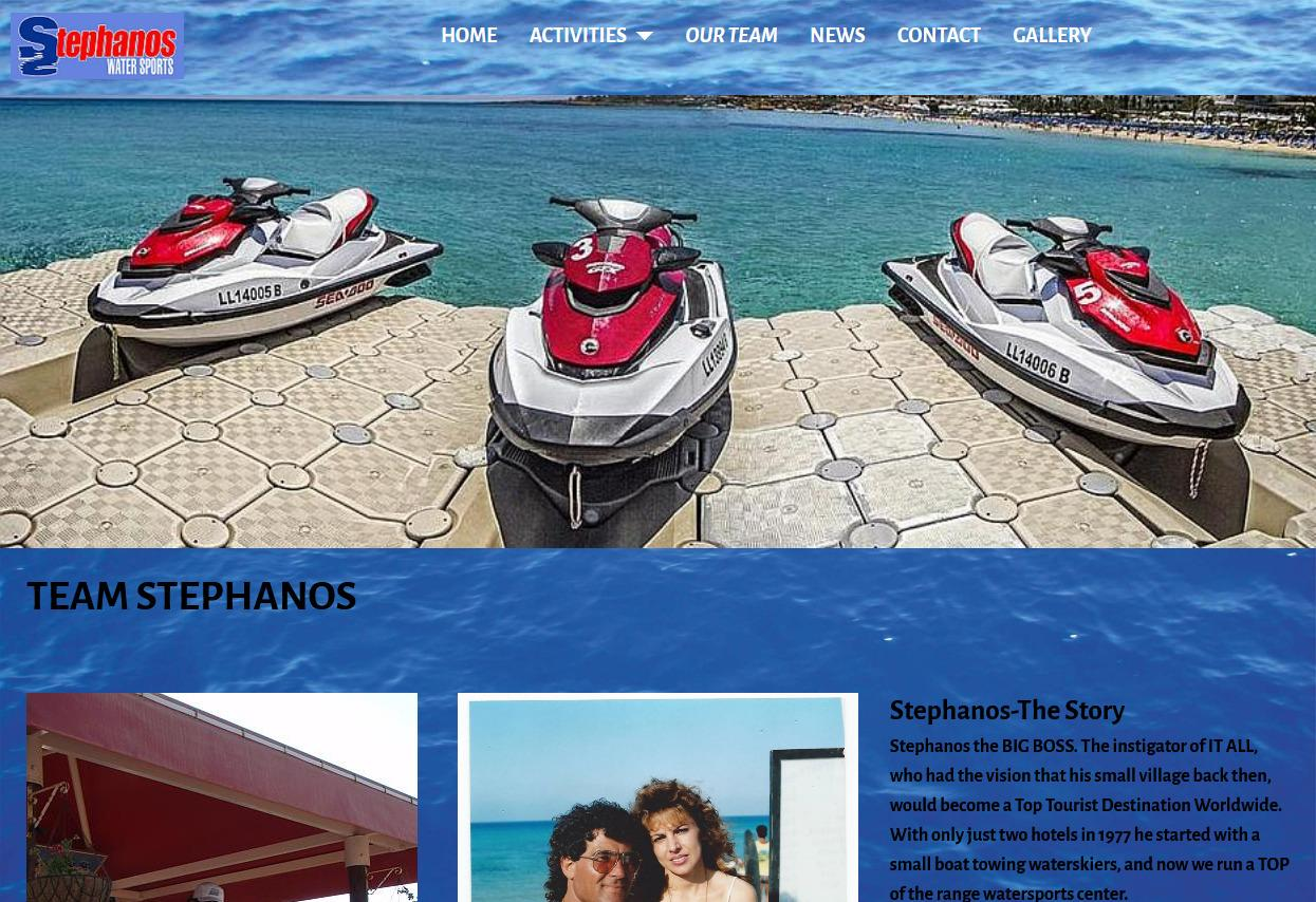 Stephanos Watersports Protaras