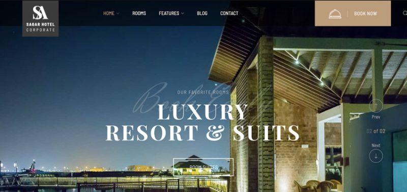 wordpress booking reservation theme