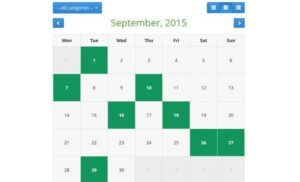 Free PHP Event Calendar