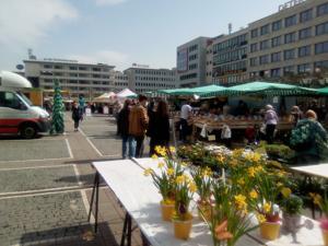 Erzeugermarkt Konstablerwache Frankfurt