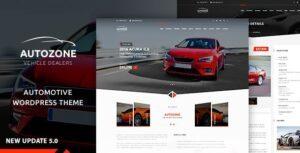 Autozone Car Dealer WordPress