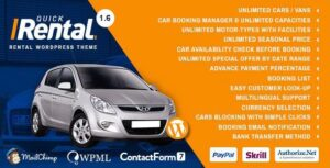 Quick Rental - Vehicles Booking