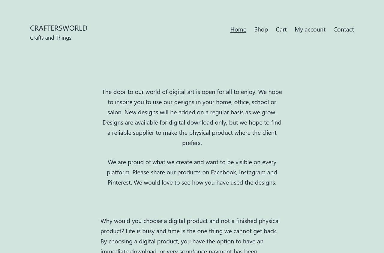 Craftersworld-Digital Downloads