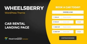 Wheelsberry – Car Rental WordPress Theme